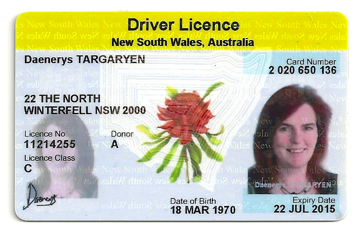 how to make a fake australian drivers license