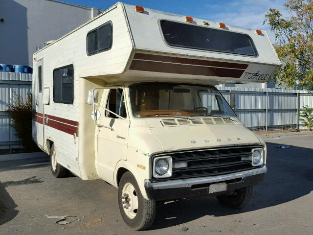 1978 dodge sportsman motorhome owners manual