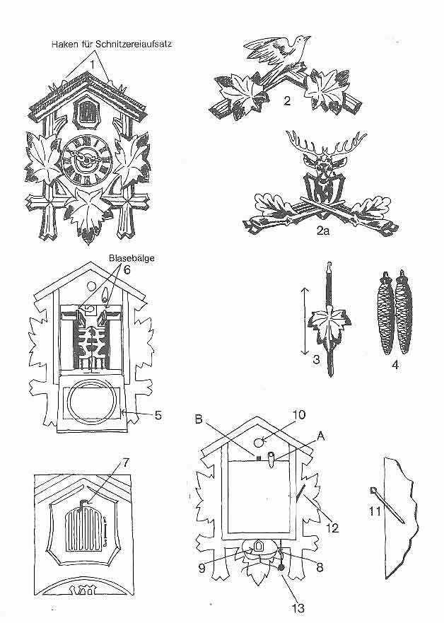 cuckoo clock instructions manual