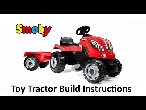 falk tractor trailer assembly instructions