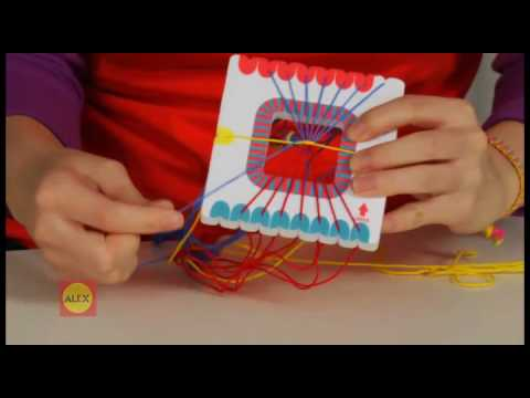 friendship bracelet instructions using wheel